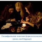 Гадания на свечах и воске
